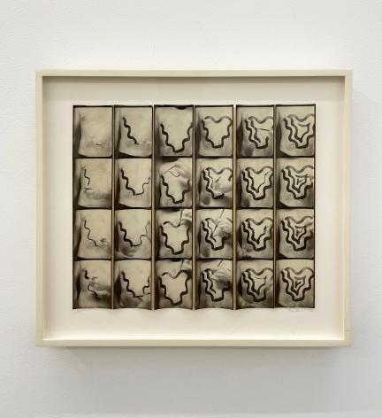 Untitled, PB #1161,1972. Vintage gelatin silver photobooth prints. 7 7/8 x 93/8inches. Unique.