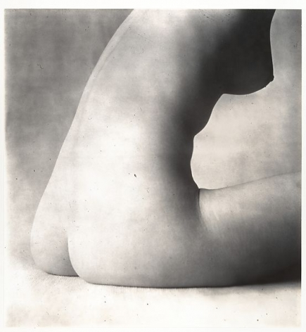 Irving Penn,Nude 18, 1949-50. Gelatin silver print, printed later, 16 1/8 x 15 1/8 inches.