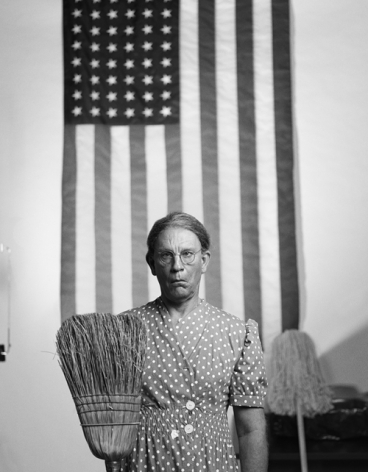 Gordon Parks - American Gothic, Washington, D.C. (1942), 2014,Archival pigment print,21.75 x 18 inches