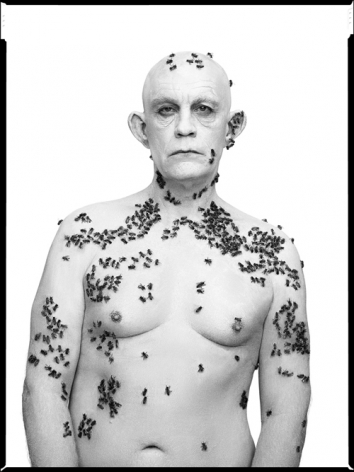Richard Avedon / Ronald Fisher, Beekeeper, Davis, California, May 9 (1981), 2014, Archival pigment print, 20 x 15 inches