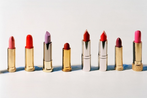 Lipstick Row,2019. Archival pigment print. Image: 12 7/8 x 18 inches, paper: 15 1/4 x 21 inches.