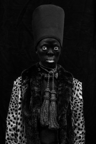 Zanele Muholi,Ngwane III, Oslo,2019. Gelatin silver print, 39 1/4 x 26 1/8.