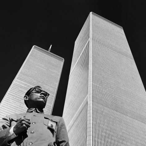 New York, New York 1979. Gelatin silver print, 16 x 16 inches.
