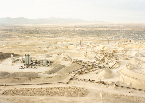 Untitled, (Gravel pit), Near Draper, Utah, 2017. Chromogenic print.