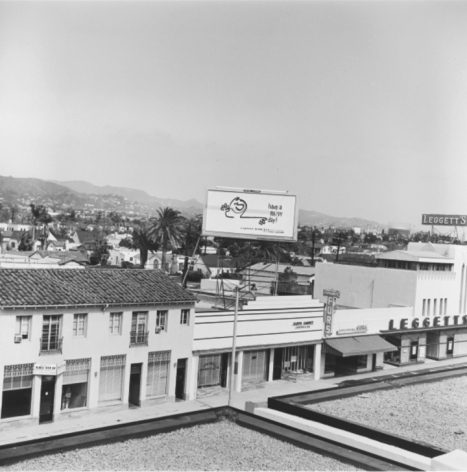 Untitled (Leggetts), fromRooftopseries, 25.5 x 25.5 inch silver gelatin print