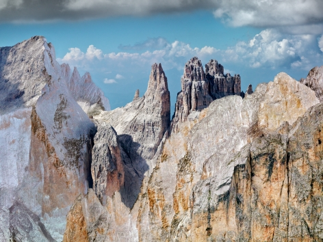The Dolomites Project #8, 2010. 65 x 85 inch archival pigment print. Edition of 6.