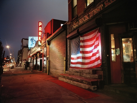 Red Rock West (West 17th Street), 2002, Chromogenic Print, available in: 20 x 24 inches, edition of 15; 30 x 40 inches, edition 15; and 40 x 50 inches, edition of 5.