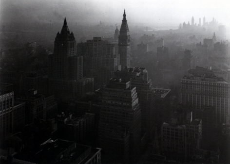 From the Empire State Building, New York 1946 Gelatin silver print
