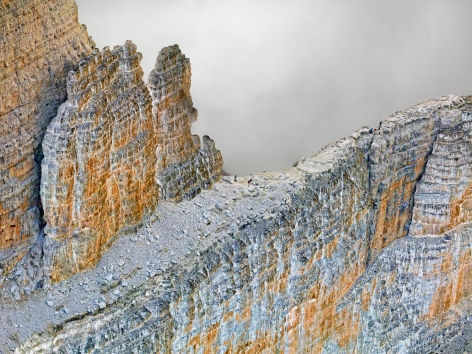 The Dolomites Project #9, 2010. 65 x 85 inch archival pigment print. AP 3/3, from an edition of 6.