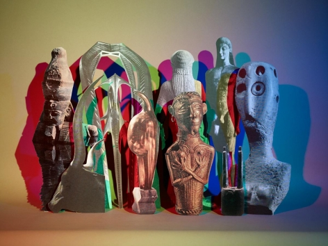 Untitled (Artifacts), 2010. Chromogenic print, 40 x 53 inches.