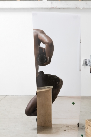 Paul Mpagi Sepuya,Mirror Study (0X5A1317),2017. Archival pigment print, 51 x 34 inches.