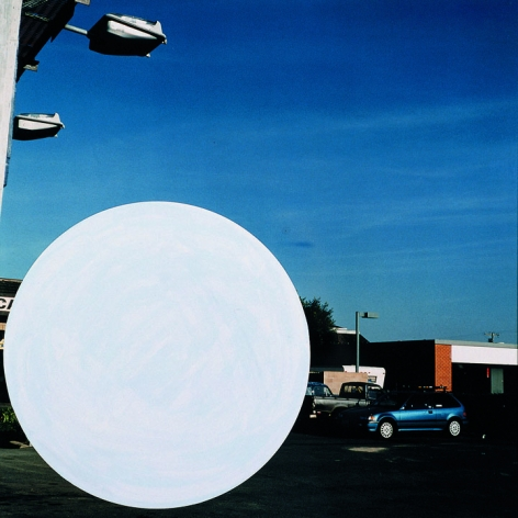 National City (1), 1996/2009,Chromogenic color print with acrylic paint,19.125 x 18.75 inches,Edition 10/12