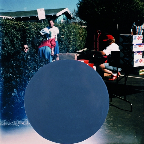 National City (5), 1996/2009,Chromogenic color print with acrylic paint,19.125 x 18.75 inches,Edition 10/12