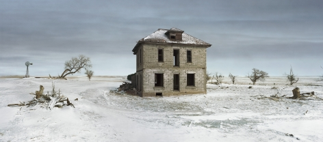 The Murray House, Sears Roebuck Rockfaced Wizard No. 52, Sheridan County, Nebraska,2013