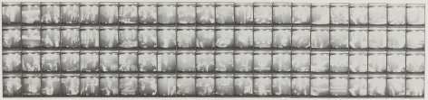 Untitled, PB #1142, 1974. Vintage gelatin silver photobooth prints, 7 7/8 x 37 3/4 inches.
