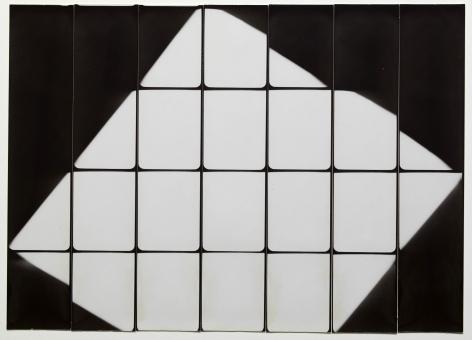 Untitled, PB #1051, 1974. Gelatin silver photobooth prints, vintage.