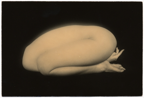 Untitled #1159from the seriesNakazora,5 x 3.75 inch gelatin silver printwith mixed media