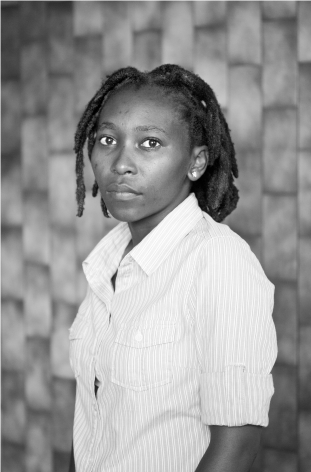 Sizile Rongo-Nkosi, Glenwood, Durban, 2012, From the Series Faces and Phases.