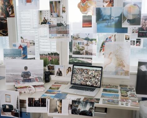 My Desktop, 2018. Archival pigment print
