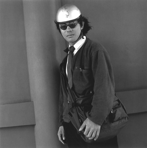A Maintenance Man For Industrial Dishwashers, 2002. Gelatin Silver Print. 14 x 14 inches, Edition of 20