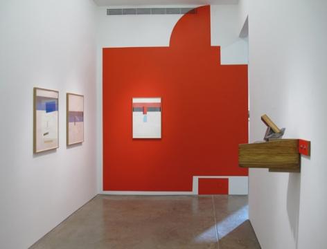 Installation view of Studio exhibition at Yancey Richardson Gallery, 2014