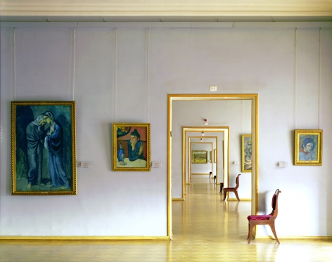 Room 348, Hermitage Museum, from the series Russia, 2003. Archival pigment print. Available at 30 x 40 inches, edition of 10, or 40 x 50 inches, edition of 5, or 50 x 60 inches, edition of 3, or 70 x 90 inches, edition of 3.