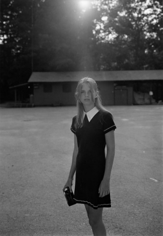 Summer Camp, Hendersonville, NC (girl with camera) 1995 Gelatin silver print, please inquire for available sizes