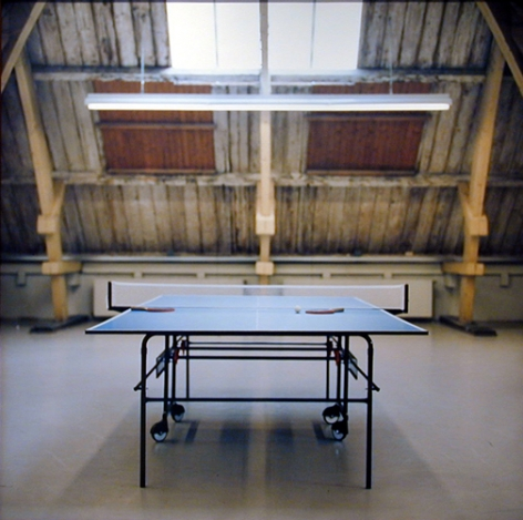 Ping Pong Table (Rijksakademie),2003, chromogenic print, 20 x 20 inches, edition of 10, 50 x 50 inches, edition of 6