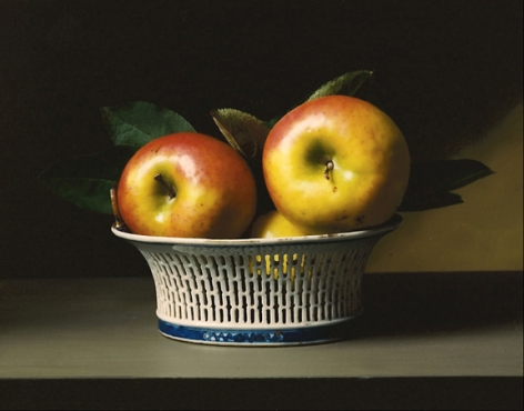Early American, Apples, 2009. Chromogenic print,10 3/4x 13 1/2inches.