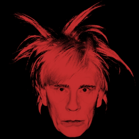 Andy Warhol - Self Portrait (Fright Wig) (1986), 2014,Archival pigment print,39.5 x 38.5 inches