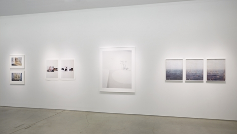 Installation view Bertien van Manen (x2), Paul Mpagi Sepuya (x2), Laura Letinsky, Bryan Graf (x3)