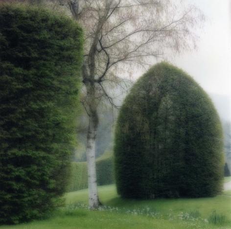 Annevoie, Belgium (4-04-10c-4),2004,19 x 19,28 x 28,or 38 x 38 inch archival pigment print