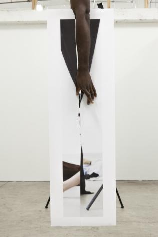 Paul Mpagi Sepuya,Mirror Study (_MG_1237),2017. Archival pigment print, 13 x 10inches.