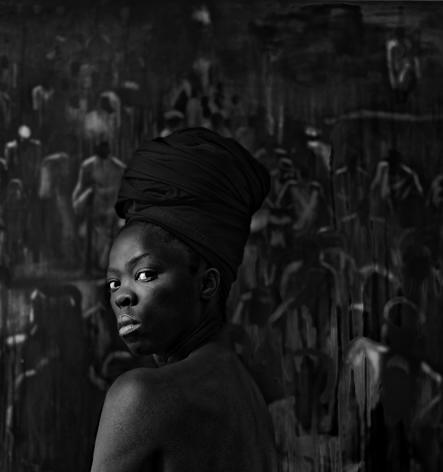 Zanele Muholi,Zabantu I, Boston,2016. Gelatin silver print, image and paper: 23 1/2 x 22 inches.