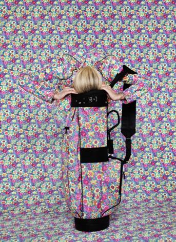 Vogue (Prada), 2011, archival pigment print, 35.75 x 26 inches.