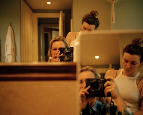 Kaitlin Maxwell,Mom Taking a Photo of Us, Florida,2018. Archival pigment print, 15 x 19 inches.