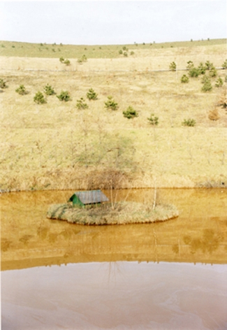 Untitled (Yellow Sea), from the series Here, 1998, 12 x 8 inch chromogenic print
