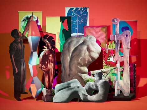 Untitled (Form), 2010. Chromogenic print, 40 x 53 inches.