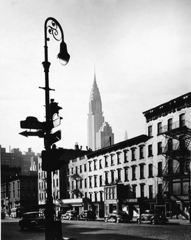 2nd Avenue at 50th Street, New York 1946 Gelatin silver print