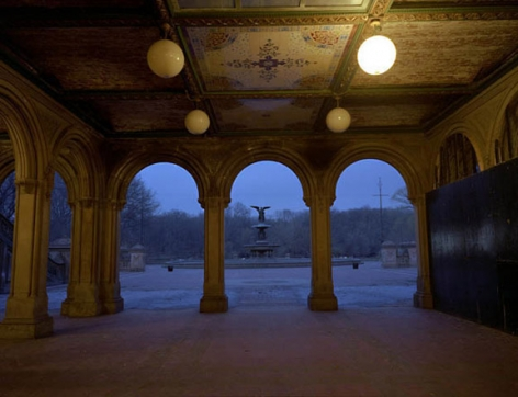 Bethesda Fountain, 2004, Chromogenic Print, available in: 20 x 24 inches, edition of 15; 30 x 40 inches, edition 15; and 40 x 50 inches, edition of 5.