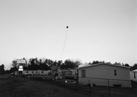 Mark Steinmetz,Athens, GA (Balloon at Dusk),1995,