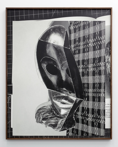 """WE 107/2 """"A Reprise"""", 2021. Archival pigmet print, 50 1/8 x 40 1/8 inches."""