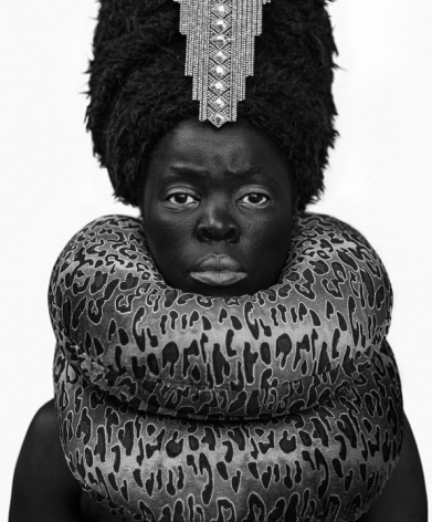 Zanele Muholi, Xiniwe at Cassilhaus, North Carolina,2016. Gelatin silver print, 31.5 x 24.5 inches.
