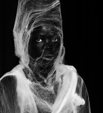 Zanele Muholi,Khanukani I, Brooklyn, New York, 2017. Gelatin silver print, 19 5/8, 19 3/4 inches.