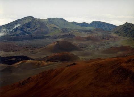 Untitled, Haleakala Crater, Hawaii, 2005, 39 x 55 inch or 55 x 75 inch chromogenic print.