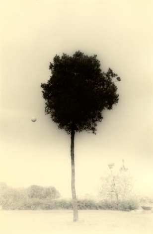 Untitled #1612 from the series Kawa=Flow, 9.5 x 6.25 inch gelatin silver print with mixed media
