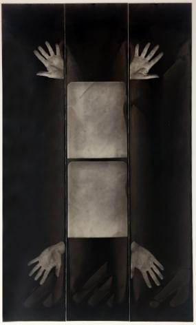 Jared Bark,Untitled, PB #1219,1976. Vintage gelatin silver photobooth prints, 7 7/8 x 4 3/4.Unique.