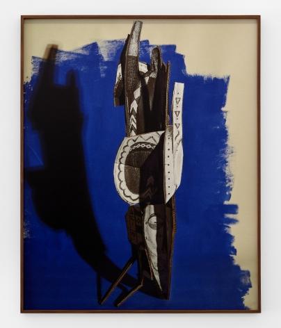 "Banda Headdress ""A Reprise"", 2019. Archival pigment print, 50 1/8 x 40 1/8 inches."
