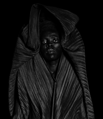 Zanele Muholi,Bester III, Southwest Philadelphia,2018. Gelatin silver print, 39 3/8 x 34 1/4 inches.