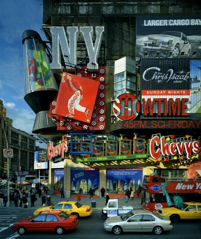 Target, Times Square, from the series New York, 2002. Archival pigment print. Available at 40 x 30 inches, edition of 10, or 50 x 40 inches, edition of 5, or 60 x 50 inches, edition of 3.